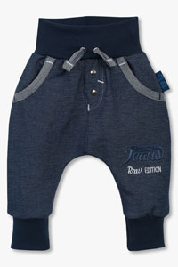 Baggy jeans jersey hlače Jeans Raw Edition - Clar